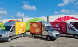 Fire damages 'majority' of Ocado's Andover CFC