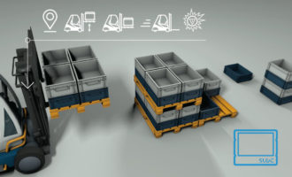 Intelligente Behälter, smarte Stapler – IoT ohne Aufwand in Ihre Intralogistik bringen