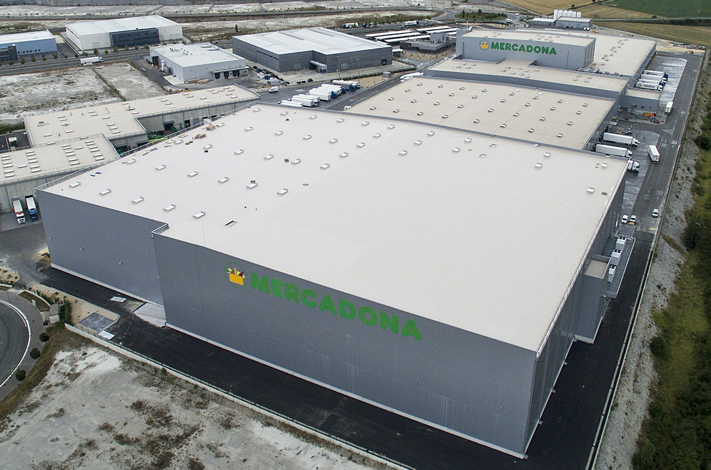 WITRON realisiert auch Mercadona-Trockensortimentslager in Vitoria-Gasteiz