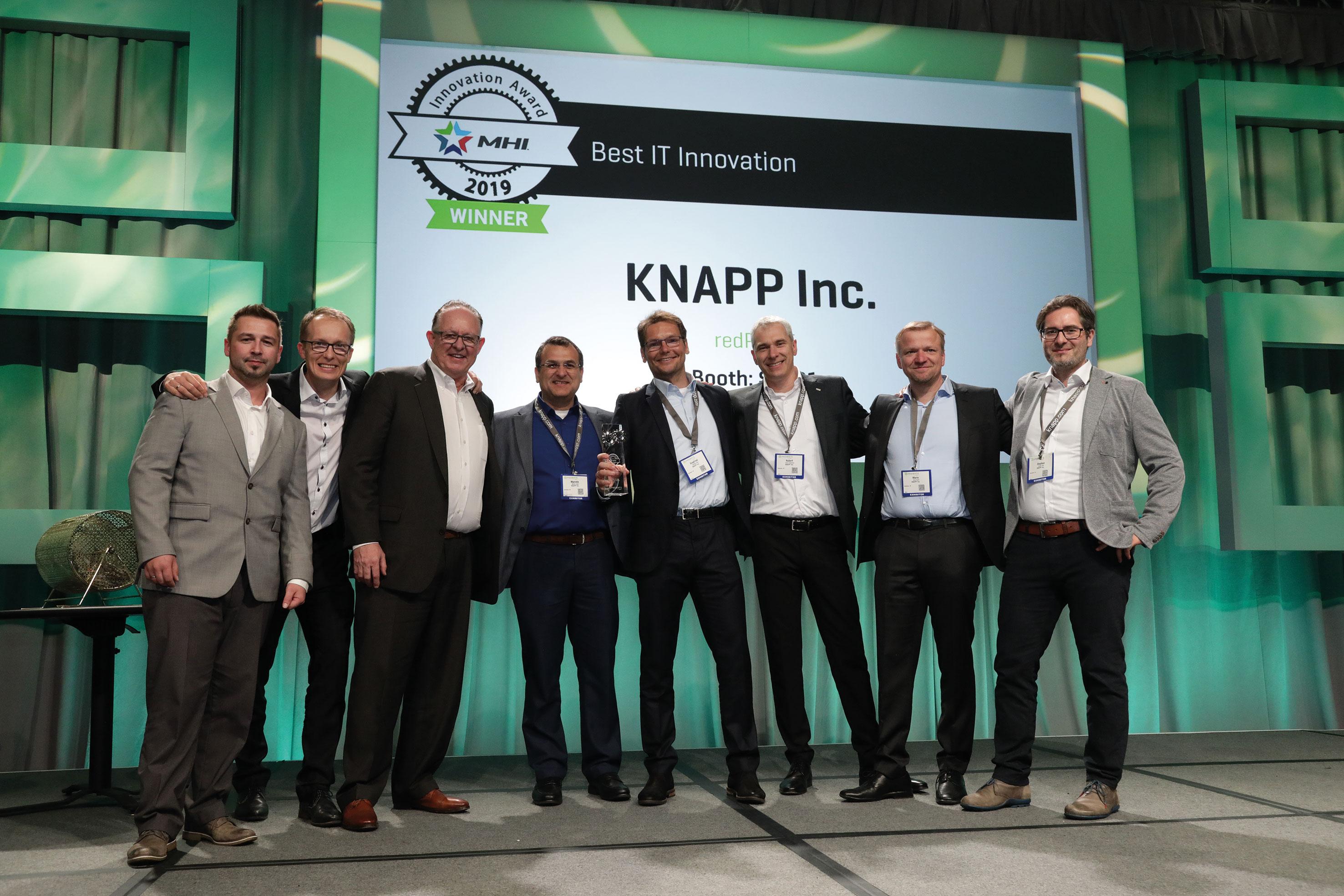 KNAPP gewinnt US Innovation Award der Material Handling Industry