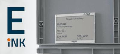 E-INK + SAP® – Digitale Labels in der Logistik