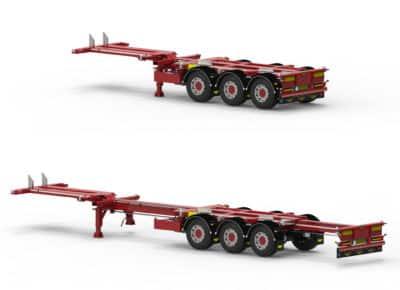 Broshuis B.V. feiert Verkauf von rund 450 Containerchassis des neuen Typs MFCC HD