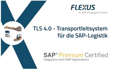 Flexus Transport-Staplerleitsystem FLX-TLS erhält Zertifizierung für SAP S-4HANA
