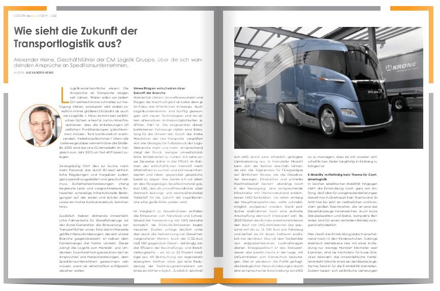 Wie sieht die Zukunft der Transportlogistik aus?
