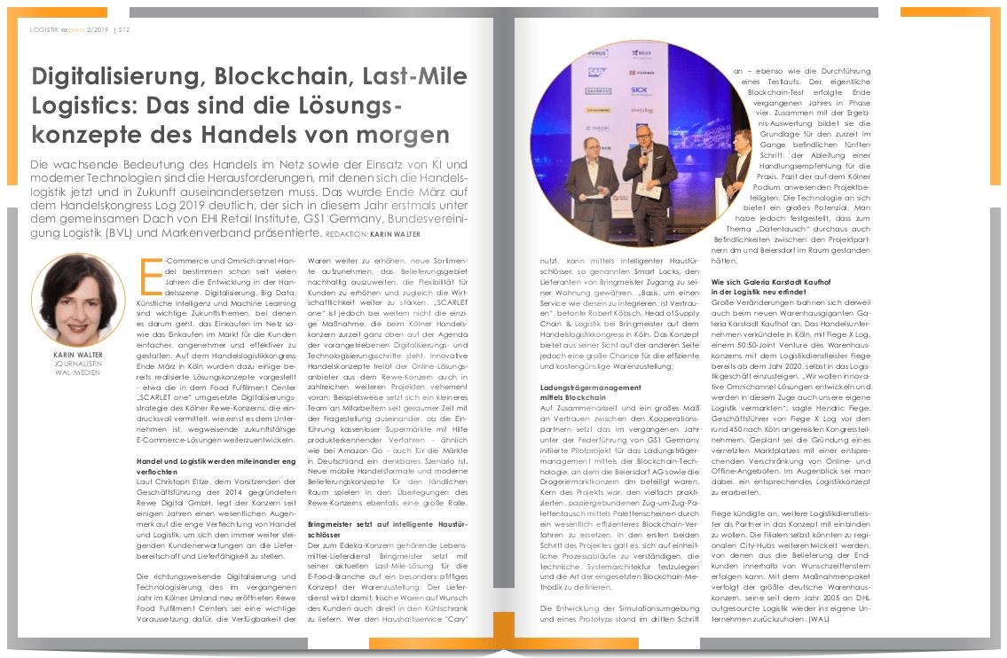 Digitalisierung, Blockchain, Last-Mile Logistics: Das sind die Lösungs-konzepte des Handels von morgen