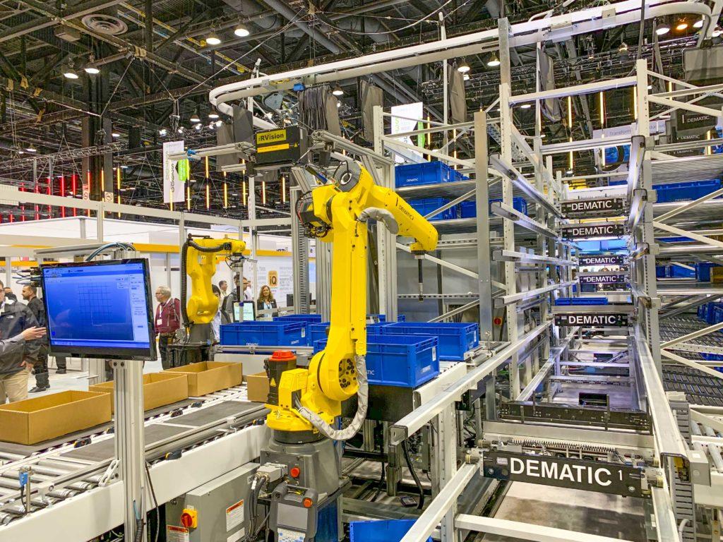 Dematic informiert erstmals über ihre robotergestützten Automatisierungslösungen auf der Robotics4Retail-Konferenz 2019