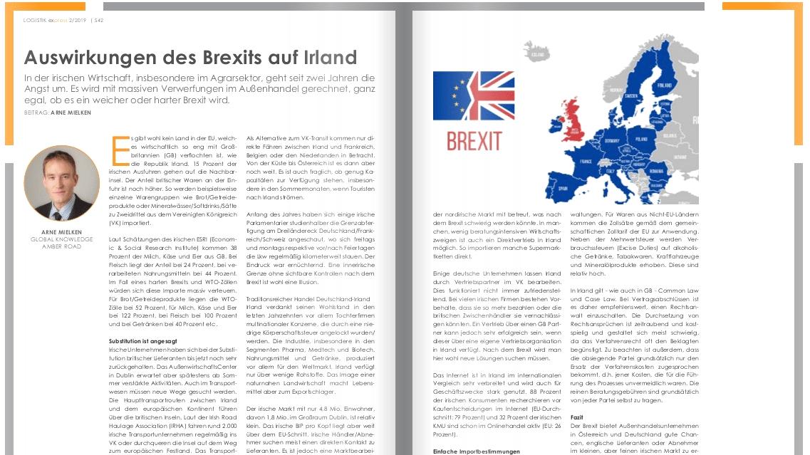 Auswirkungen des Brexits auf Irland