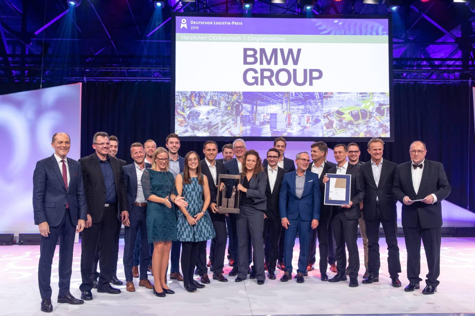 Der Deutsche Logistik-Preis 2019  geht an die BMW Group