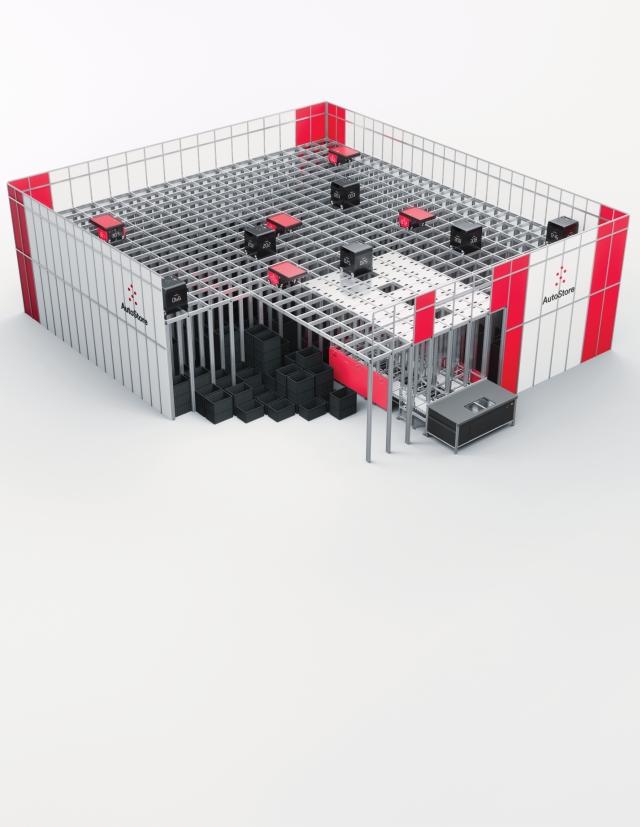 Flexibles AutoStore-Konzept sichert L-Shop-Team GmbH klaren Wettbewerbsvorteil