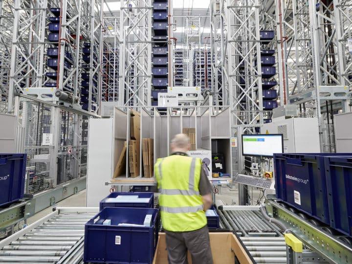 Ferdinand Bilstein hat mit WITRON ein modernes Ersatzteil-Verteilzentrum in UK realisiert