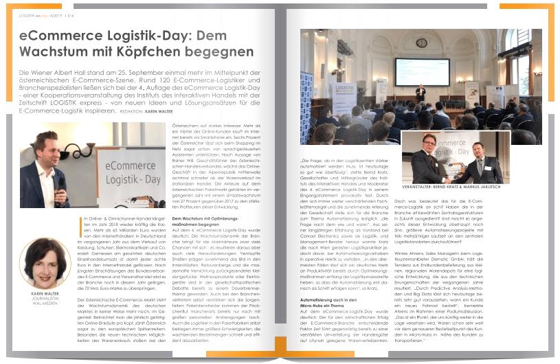 eCommerce Logistik-Day: Dem Wachstum mit Köpfchen begegnen