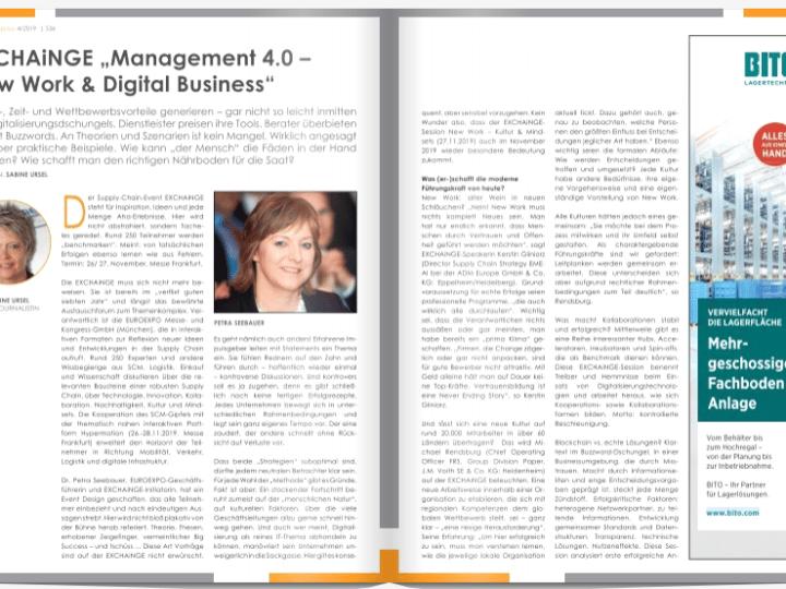 "EXCHAiNGE ""Management 4.0 – New Work & Digital Business"""