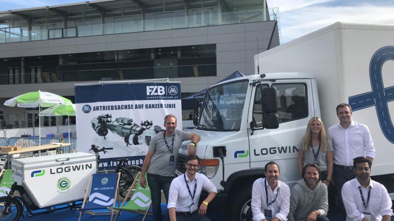 Logwin bringt eTransport auf Österreichs Straßen