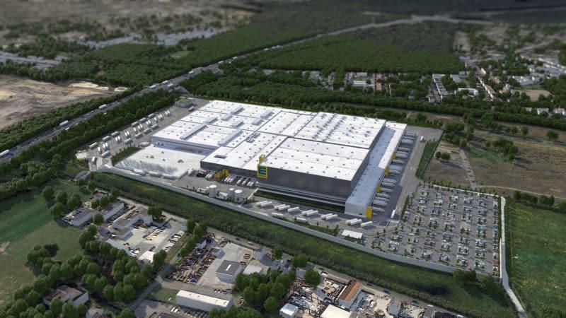 EDEKA Rhein-Ruhr setzt in Oberhausen auf WITRON-Technologie