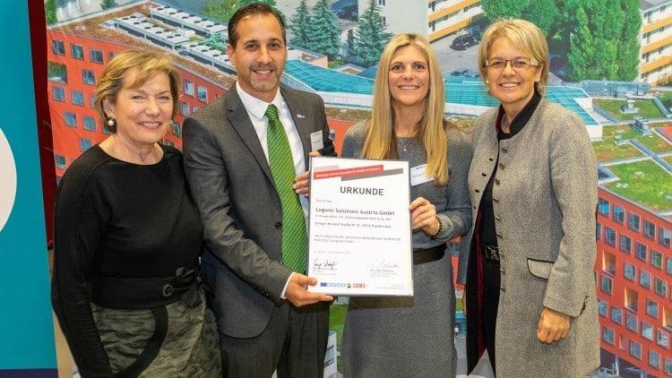 Logwin erhält Auszeichnung von Land und Wirtschaftskammer NÖ für eTransport