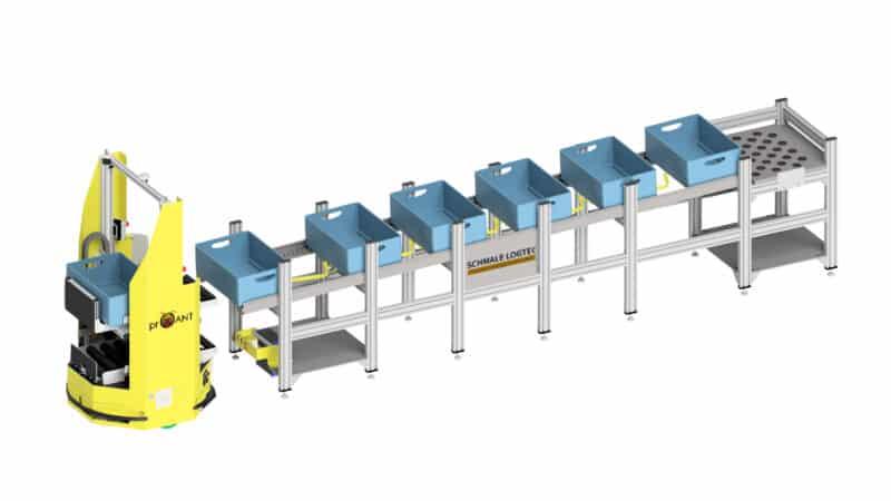 Durchgängige Effizienz bei der automatisierten Auftragsfertigung