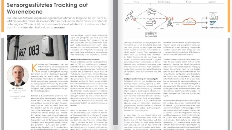 Sensorgestütztes Tracking auf Warenebene