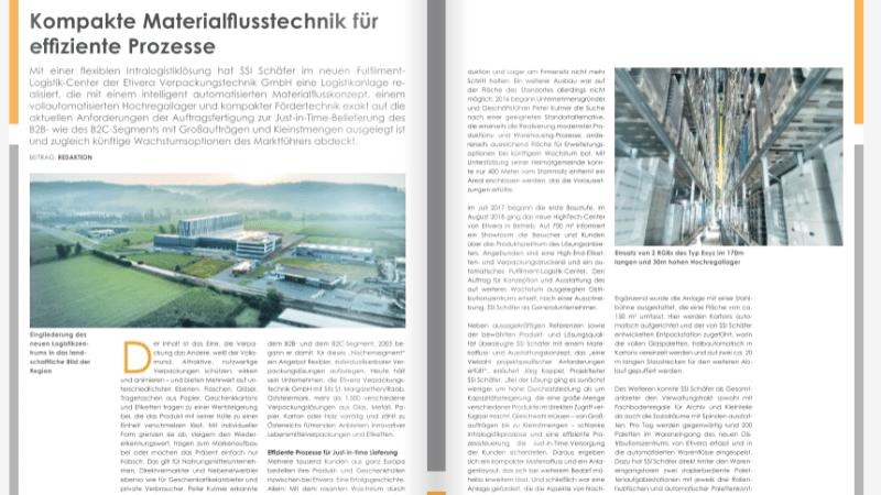 Kompakte Materialflusstechnik für effiziente Prozesse