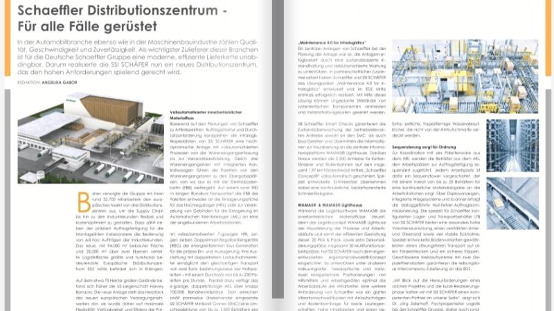 Schaeffler Distributionszentrum – Für alle Fälle gerüstet