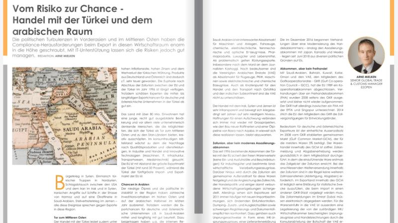 Vom Risiko zur Chance –  Handel mit der Türkei und dem arabischen Raum