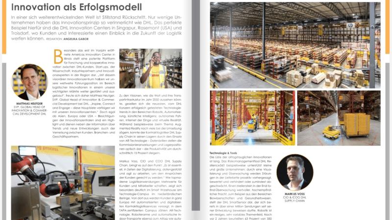 DHL: Innovation als Erfolgsmodell