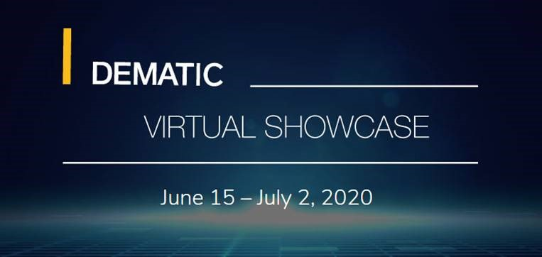 DEMATIC VIRTUAL SHOWCASE: Get the last spots!