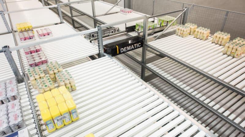 Milchindustrie: Automatisierung sorgt für effizientere Intralogistik