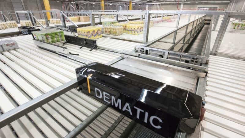 Großprojekt in den USA: Dematic automatisiert temperaturgeführte Lager