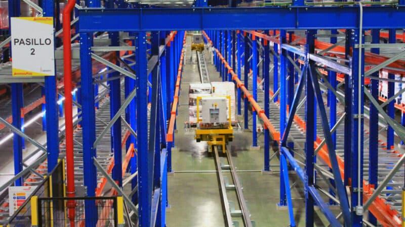 Dematic automatisiert Lager von spanischer Supermarktkette Ahorramas