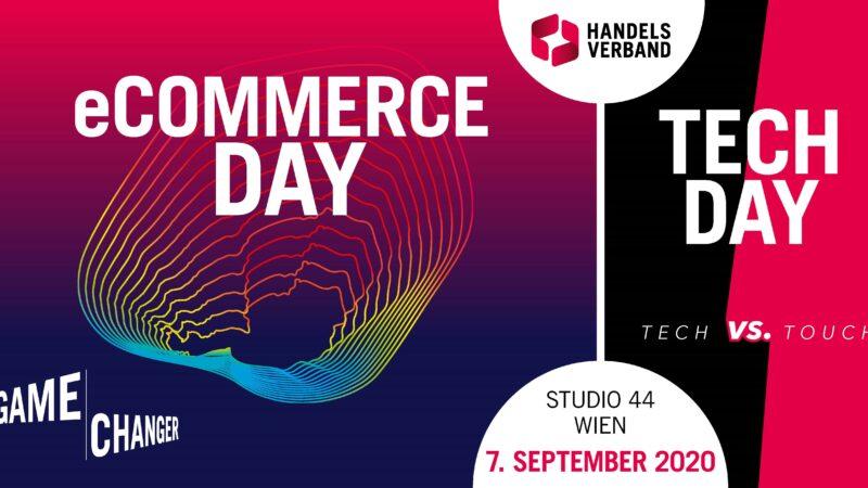 Einladung zum ECOMMERCE / TECH DAY 2020 am 7. September