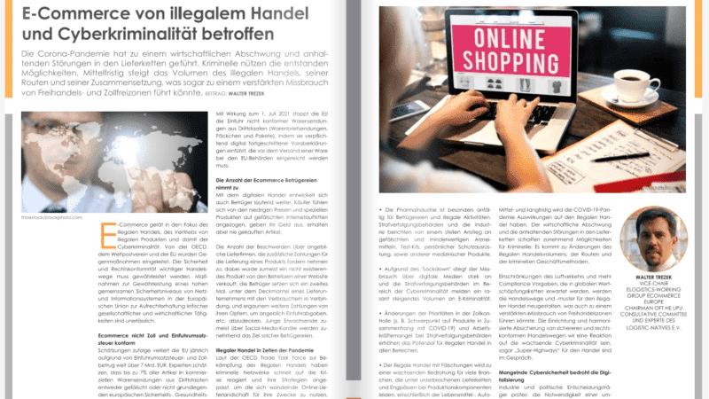 E-Commerce von illegalem Handel und Cyberkriminalität betroffen