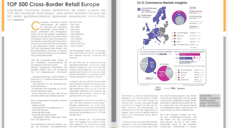 TOP 500 Cross-Border Retail Europe
