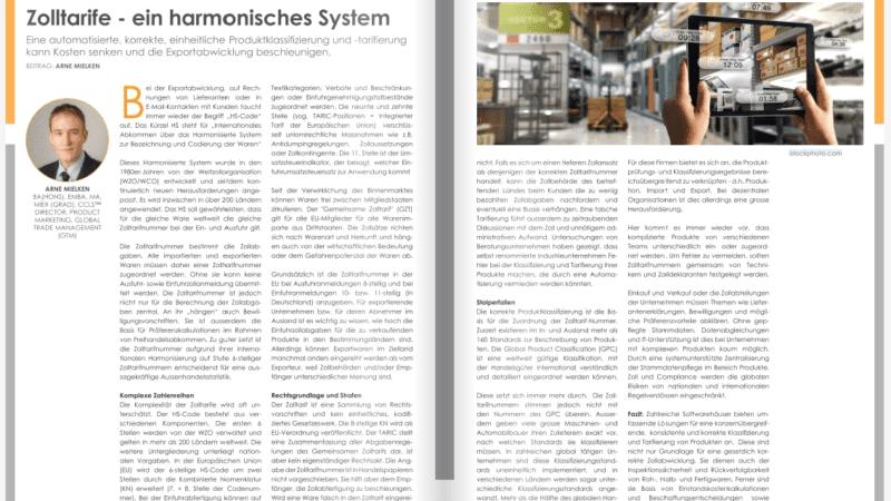Zolltarife – ein harmonisches System