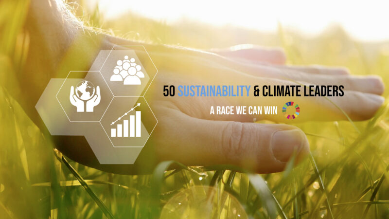 "SSI Schäfer tritt der Initiative ""50 Sustainability and Climate Leaders"" bei"