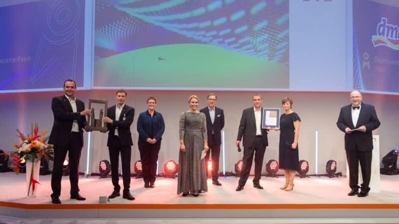 Der Deutsche Logistik-Preis 2020 geht an dm-drogerie markt