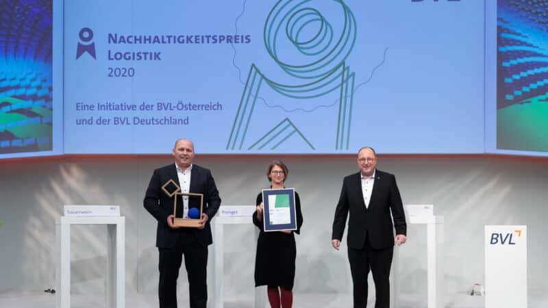 Transgourmet Deutschland erhält denNachhaltigkeitspreis Logistik 2020