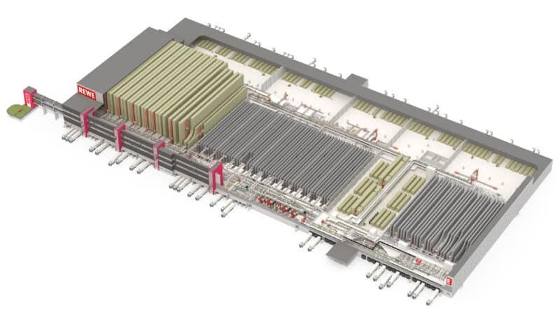 REWE erweitert mit WITRON Logistikzentrum in Neu Isenburg
