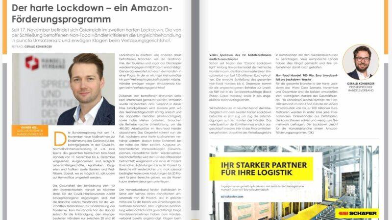 Der harte Lockdown – ein Amazon-Förderungsprogramm