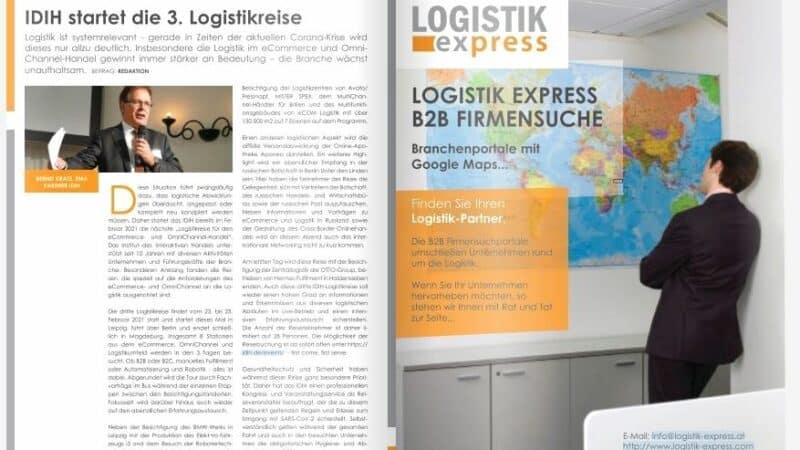 IDIH startet die 3. Logistikreise