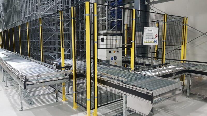 LT Fördertechnik präsentiert neue Fördertechnikkomponenten und RBG