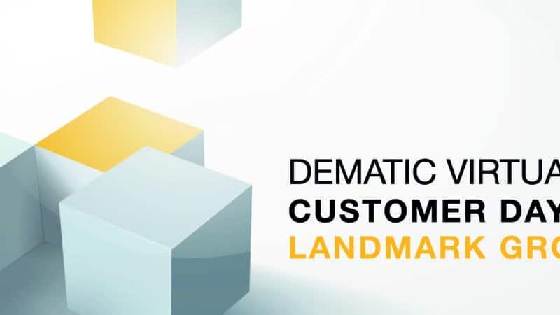 Dematic setzt Virtual Events mit Customer Day im Mega-Distributionszentrum der Landmark Group fort