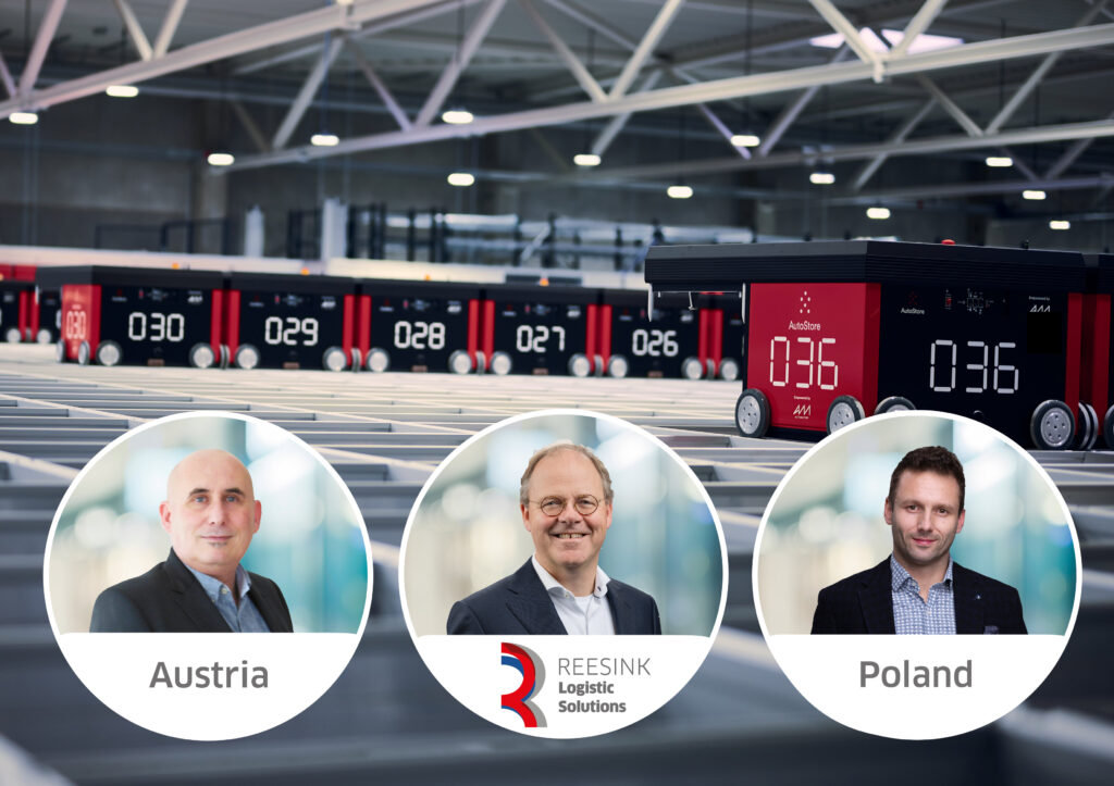 Reesink Logistic Solutions: Markus Grabner (Österreich), Gert Bossink (Niederlande), Maciej Ornowski (Polen)