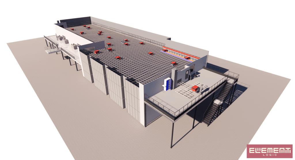 3D Visualisierung AutoStore System