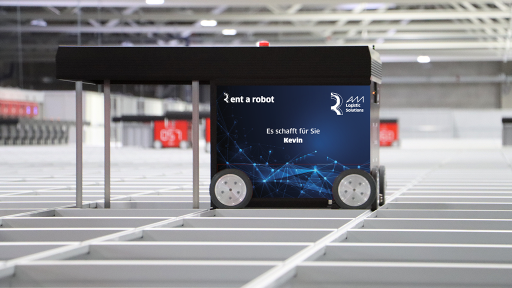 AM Logistic Solutions bietet Mietroboter für AutoStore-Lager
