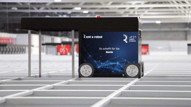AutoStore-Roboter mieten von AM Logistic Solutions