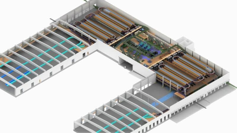 Neue Sortiertechnik ermöglicht effizientere Bearbeitung kleiner und mittelgroßer Sendungen in DHL-Paketzentren