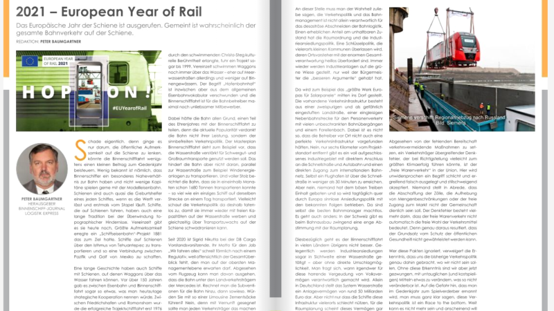 2021 – European Year of Rail
