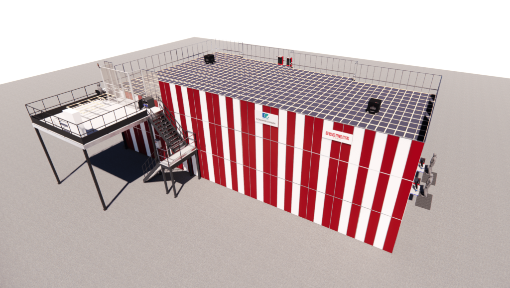 3-D Visualisierung AutoStore Eloxalwerk