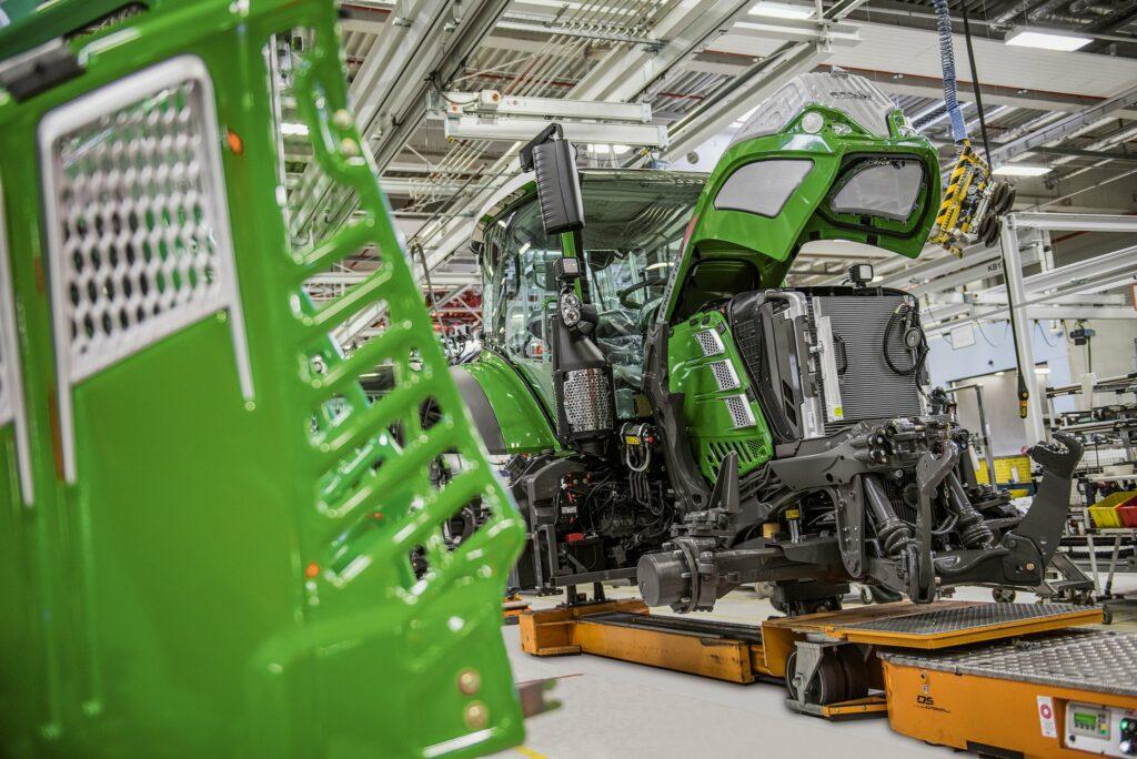 Fendt Traktoren Fertigung Marktoberdorf
