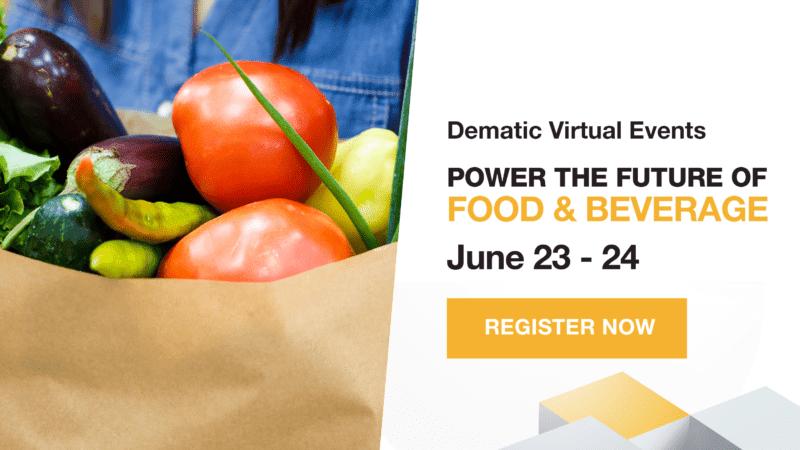 Virtual Events: Dematic lädt ein zum Food & Beverage-Customer Day